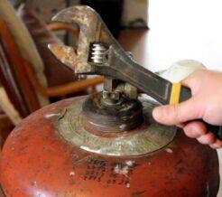 Правила быстрой и безопасной замены газового баллона