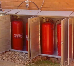 Шкаф для баллонов с газом